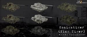 CoD2 King Tiger model variants