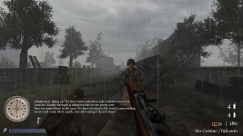 CoD2 subtitles for custom maps