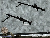 CoD2 portable MG42 worldmodel