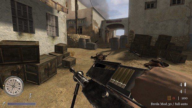 CoD2 Back2Fronts patch 1.1 - Breda 30