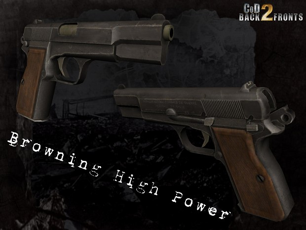 CoD2 Browning HP concept