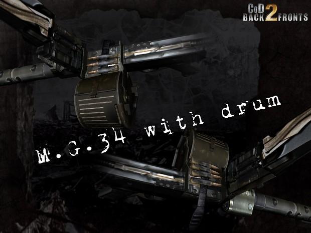 CoD2 MG34 drum progress