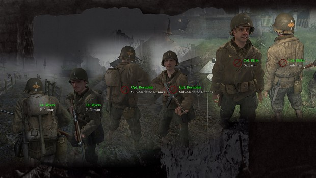 CoD2 Back2Fronts patch 1.1 - US ranks