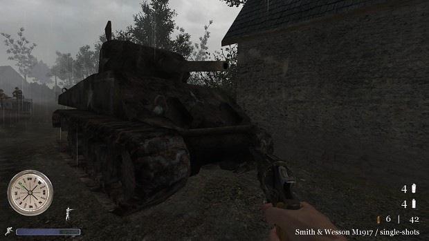 CoD2 alternate Sherman model