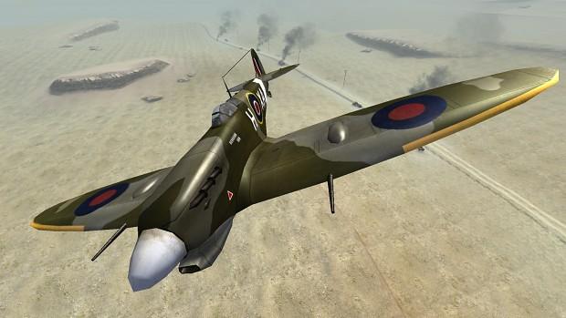 CoD2 Back2Fronts patch 1.1 - Spitfire
