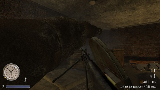 CoD2 portable DP-28 ingame