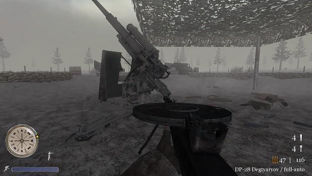 CoD2 winter Flak88