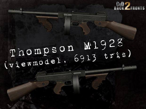CoD2 Thompson M1928 concept