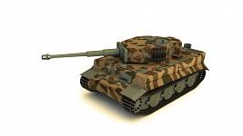 Tiger 1 Ausf. E late