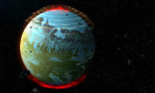 aurora planet image