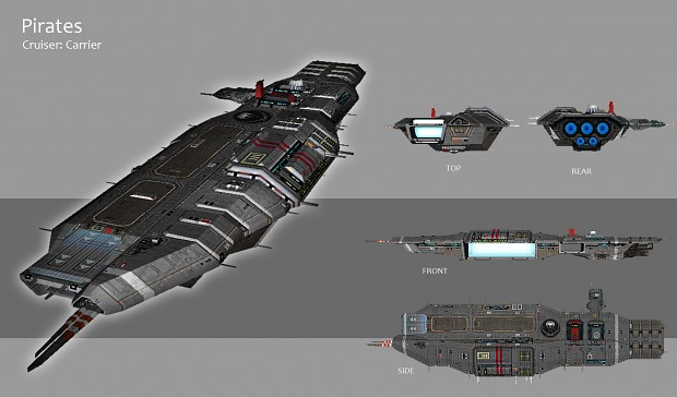 Pirates - Cruiser Carrier