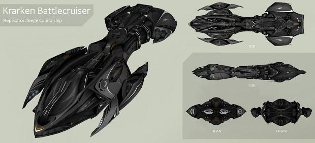 Ship List Replicator_-_Krarken_Battlecruiser