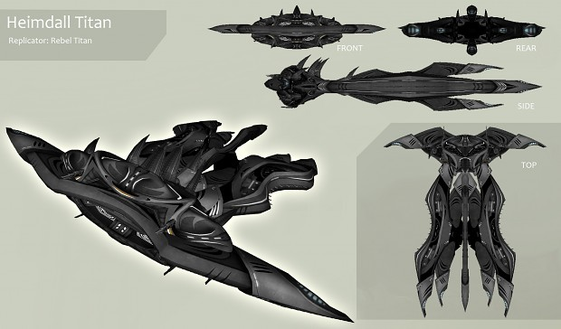 Replicator Heimdall Titan