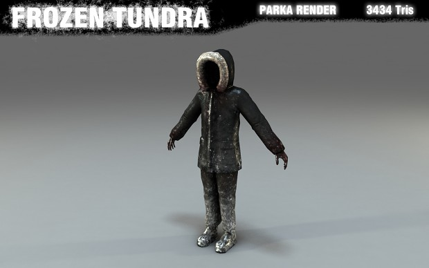 Parka Textured Render