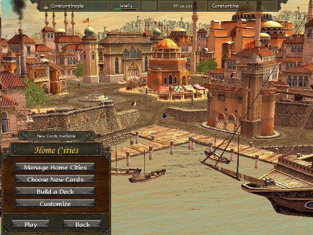Byzantine homecity image - The Age of Crusades mod for Age