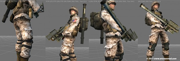 MARPAT Camo Pattern for Infantry Units