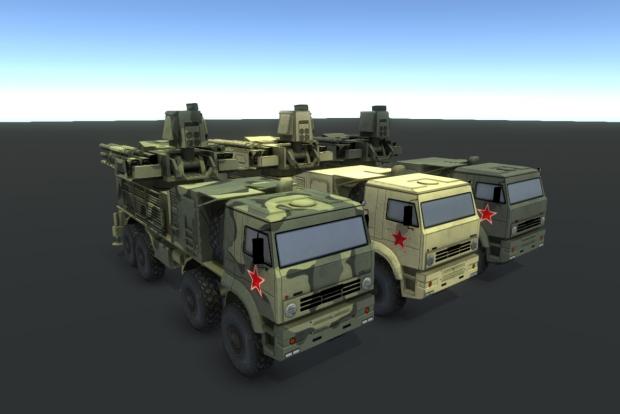 New Pantsir S1 (SA-22) Model