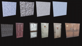 Map props and textures