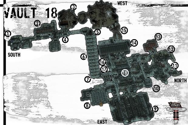 Vault 18 Maps
