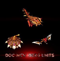 zerg new units