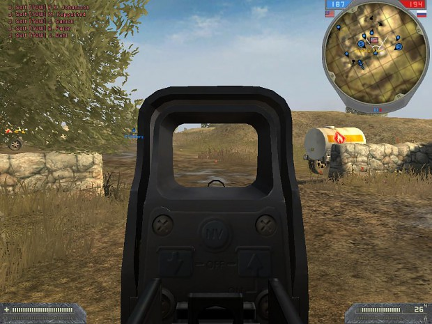 G36K EoTech 3D Zoom