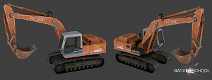 Digger model (by Romka)