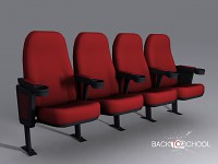 Cinema chairs (by GoLDeN)