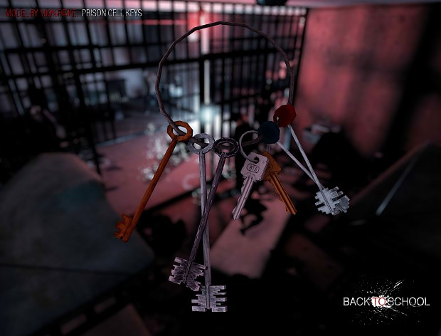 Prison cell keys (model by 100_o/o_fake)