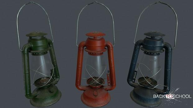 Oil Lamp (model by 100_o/o_fake)