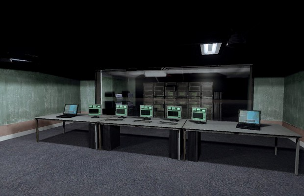 """In Bunker""      Server room v2"