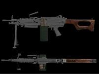 Post-Apocalyptic M249