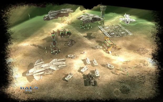 C&C 3 Halo mod UNSC_BASE_4