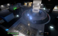 UFO teleportation beam