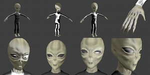 Alien in HLMV, phong still needs tweaking