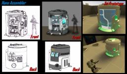 Nano Assembler Concept 1