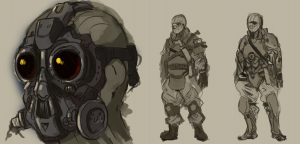 SPK Faction - Soldier Concept 1