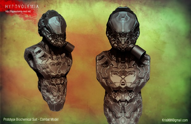 Hyp Combat Bio-Suit Prototype