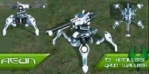 Aeon T3 Artillery  quad walker