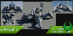 Aeon T4 light walker WIP