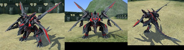Cybran Dragon MK IV in game