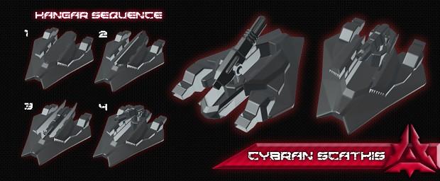 "Cybran ""Scathis"" T3 Naval Artillery Platform"