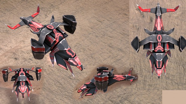 Cybran T1 gunship