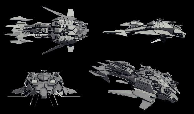 Cybran XP battleship
