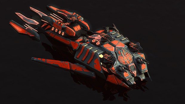 Cybran XP battleship render
