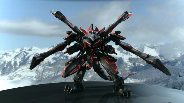 Cybran Dragon MK III render