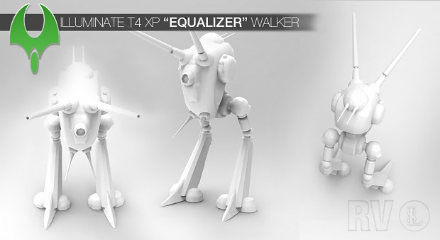 "Illuminate T4 ""Equalizer"" Walker (wip)"
