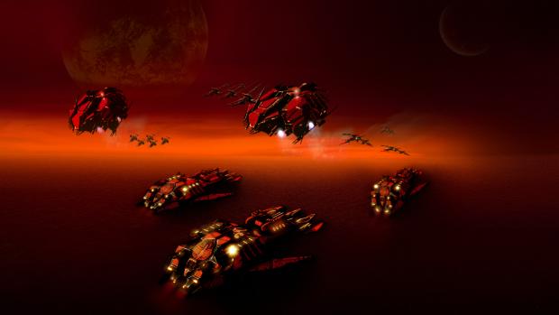 """Cybran wallpaper - """" Red Planet """""""