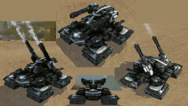 UEF Juggernaut with treads