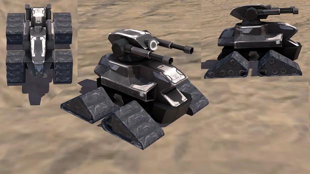 UEF T1 AA tank