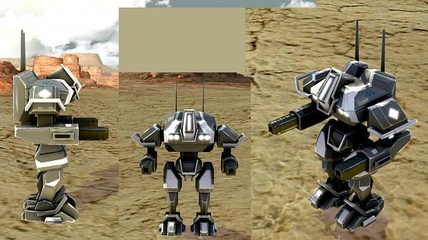 UEF T1 Mech in game